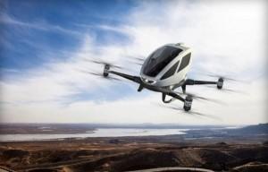 Airbus готовится выпускать летающие такси-беспилотники