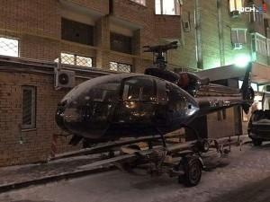 Тайна припаркованного в Москве вертолета