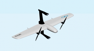 Дрон SkyX: гибрид самолета и вертолета