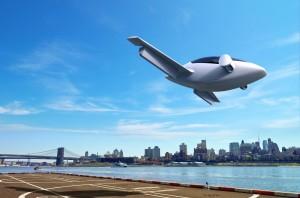 Электрический летательный аппарат Lilium