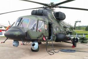 Новый военно-транспортный вертолет Ми-8