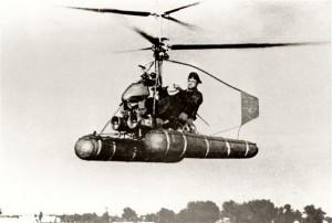 Вертолет Ка-8 — первый вертолет Камова