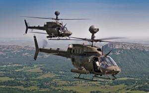 Вертолет Bell OH-58 Kiowa